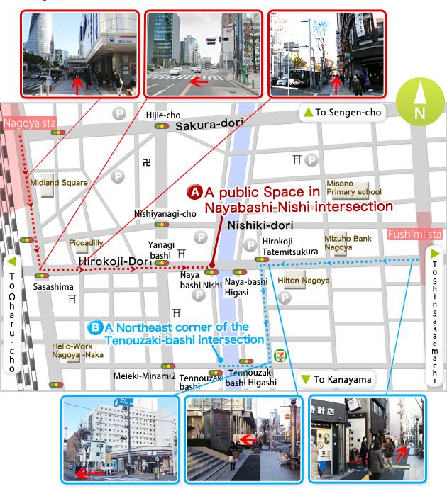 Nagoya Meeting Point Map